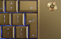 rotated-L shaped return-key